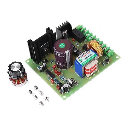 Schema Elettrico Regolatore Pwm : Regolatore di velocità del motore scheda di controllo velocità