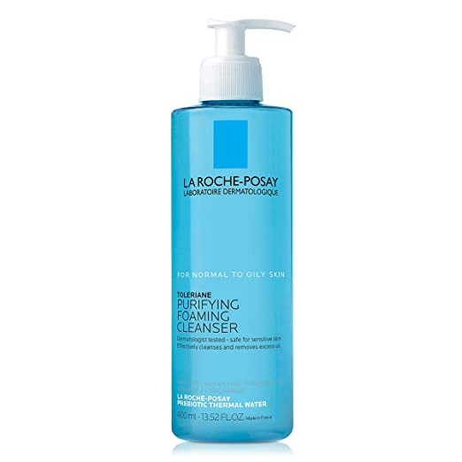 Amazon.com: La Roche-Posay Toleriane Face Wash Cleanser, Purifying Foaming Cleanser for Normal Oily & Sensitive Skin: Premium Beauty