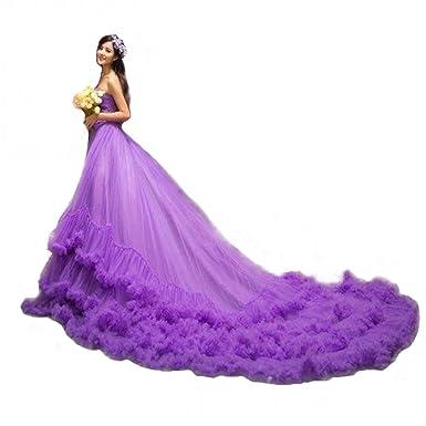Let's Fashion Prom Dress Purple