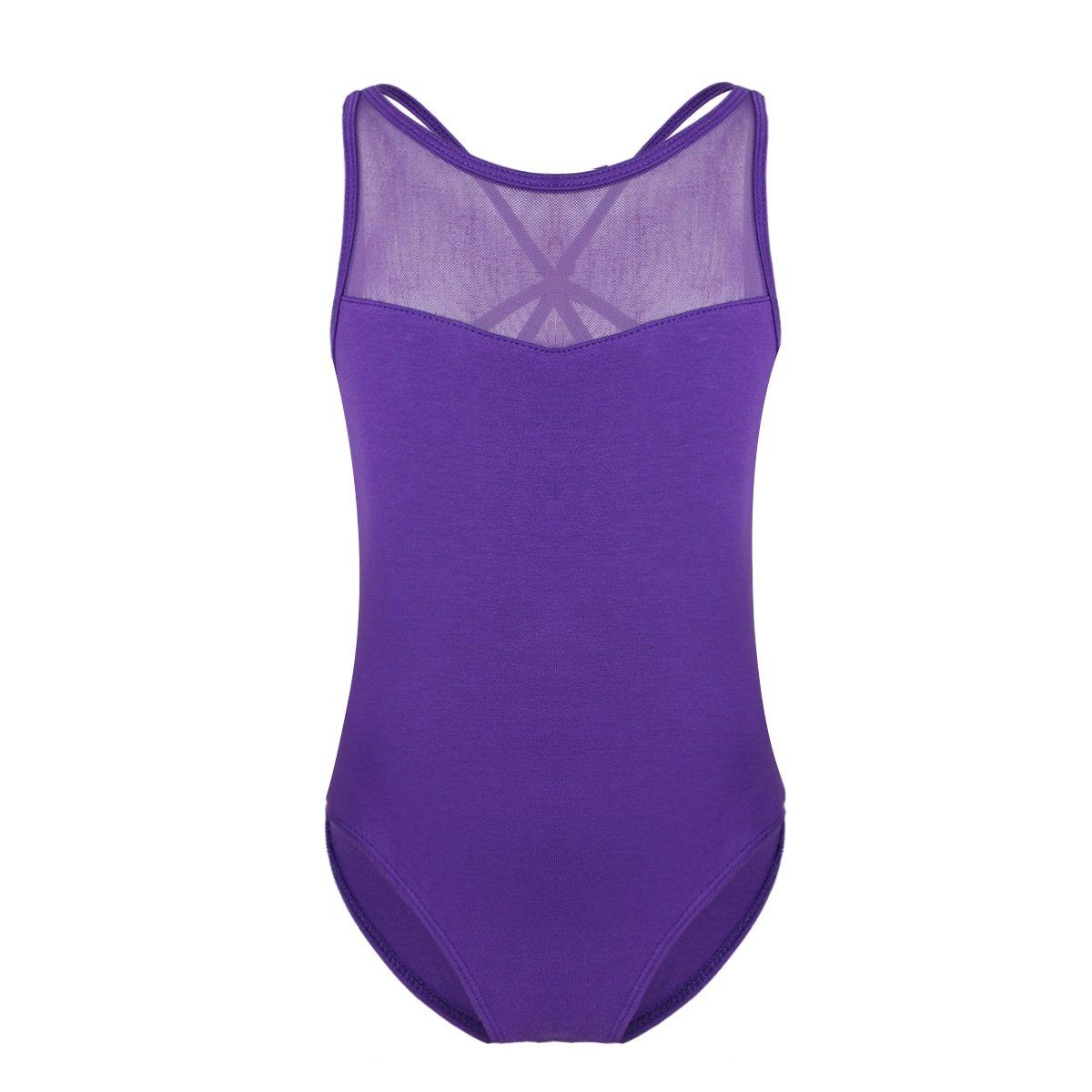 iiniim SOCKSHOSIERY ガールズ B07G779W7Y 5 / 6|Criss Cross Purple Criss Cross Purple 43591