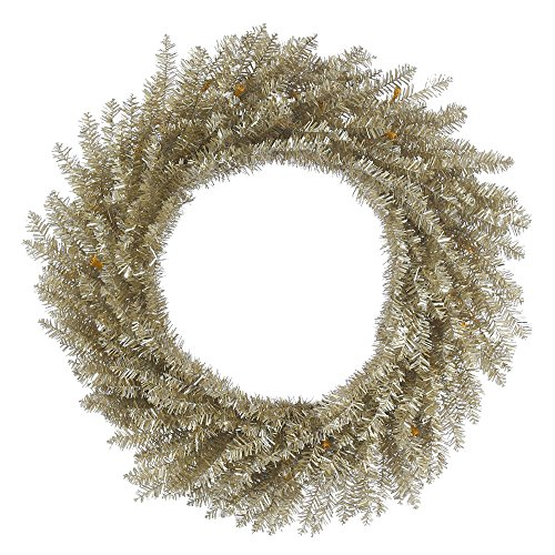 Vickerman B153724 Tinsel Wreath with 260 Tips, 24