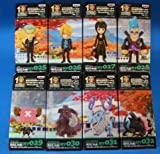 One Piece the Movie World Collectible Figure ~ Strong World ~ Ver.4 all eight set