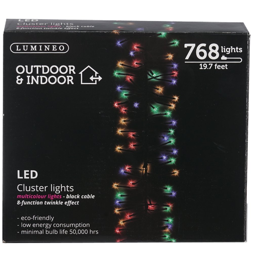 Amazon.com : Kaemingk 768 LED Lights - Multi - Cluster Lights ...