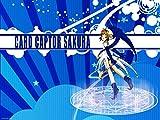 Blue Heron Cardcaptor Sakura Logo Charms Lobster Clasp Bracelet w/Gift Box