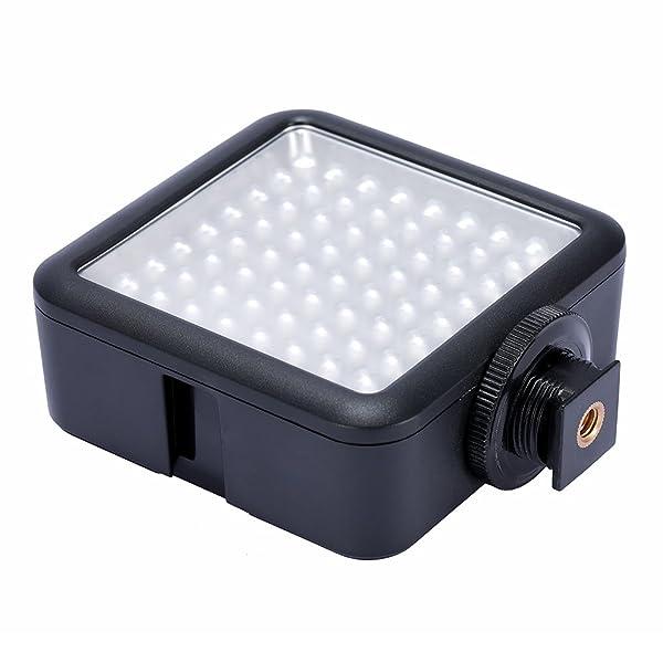 NEEWER LED64 5500K-6500K TEMPERATURA DE COLOR PROFESIONAL LUZ DE VÍDEO LED REGULABLE