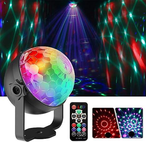 Lámpara de escenario, luz de fiesta, mini proyectores con efectos ...