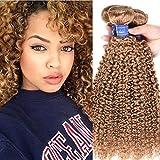 Best Hair Weave Blonde 3 Bundles - Honey Blonde 3 Bundles Malaysian Curly Hair Weave Review
