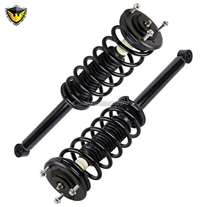 New Pair Duralo Rear Strut & Spring Assembly For Lexus LS460 2007-2012 -  Duralo 1192-1377 New