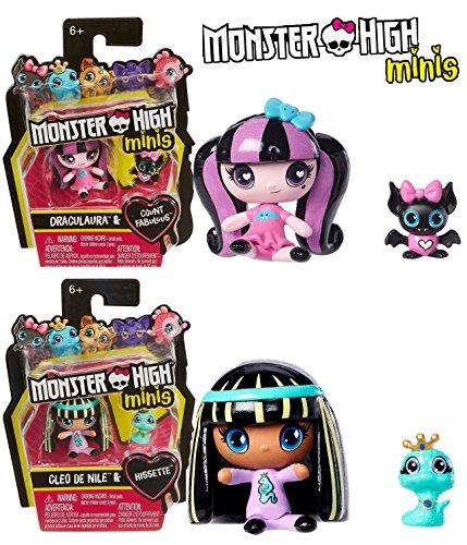 Set of 2: NEW! Monster High Minis -