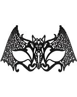 WINK KANGAROO Women's Laser Cut Metal Venetian Pretty Masquerade Masks