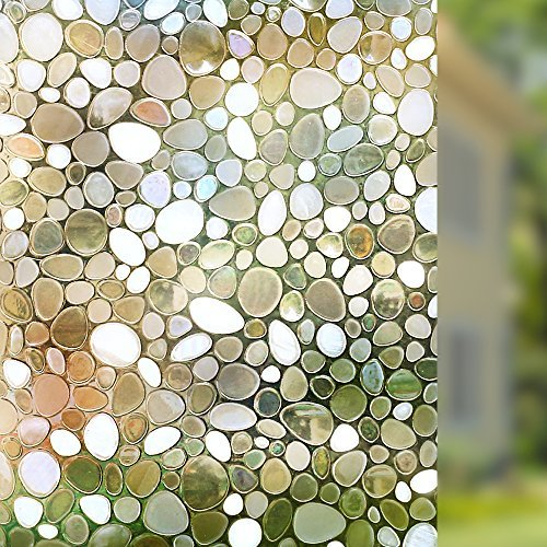 rabbitgoo-privacy-window-film-decorative-window-film-static-cling-window-film-177in-by-787in-3d-pebb