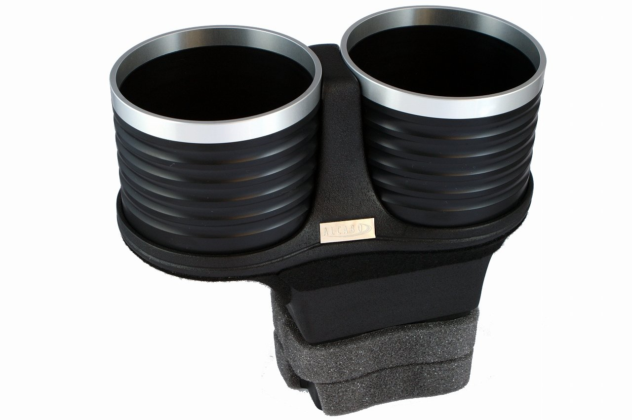 ALCABO drink holder black / ring cup Bentley Continental GT / GTC / Flying Spur right / AL-B201BS for left-hand drive