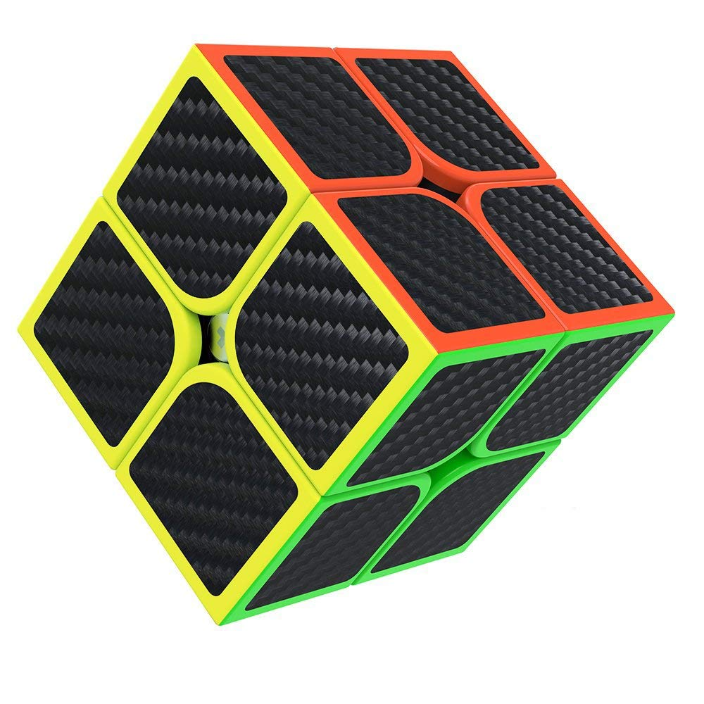 Buself Speed Cube 2x2 3D Puzzle Magic Cube Toys with Vivid Colors and Smooth Turning for Birthday-Christmas-Company