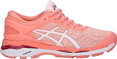 Asics Women's Gel Kayano 24 Running Shoe, Seashell Pink