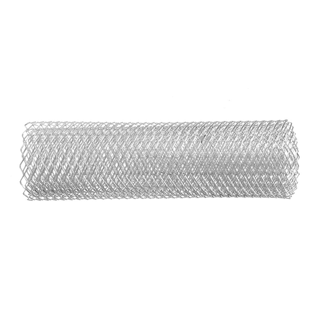Demino Vehicle Car Grille Net Mesh Universal Aluminum Alloy Grill Auto Front Bumper Mesh Grille 10x20mm Black /& Rhombic /& 10x20mm