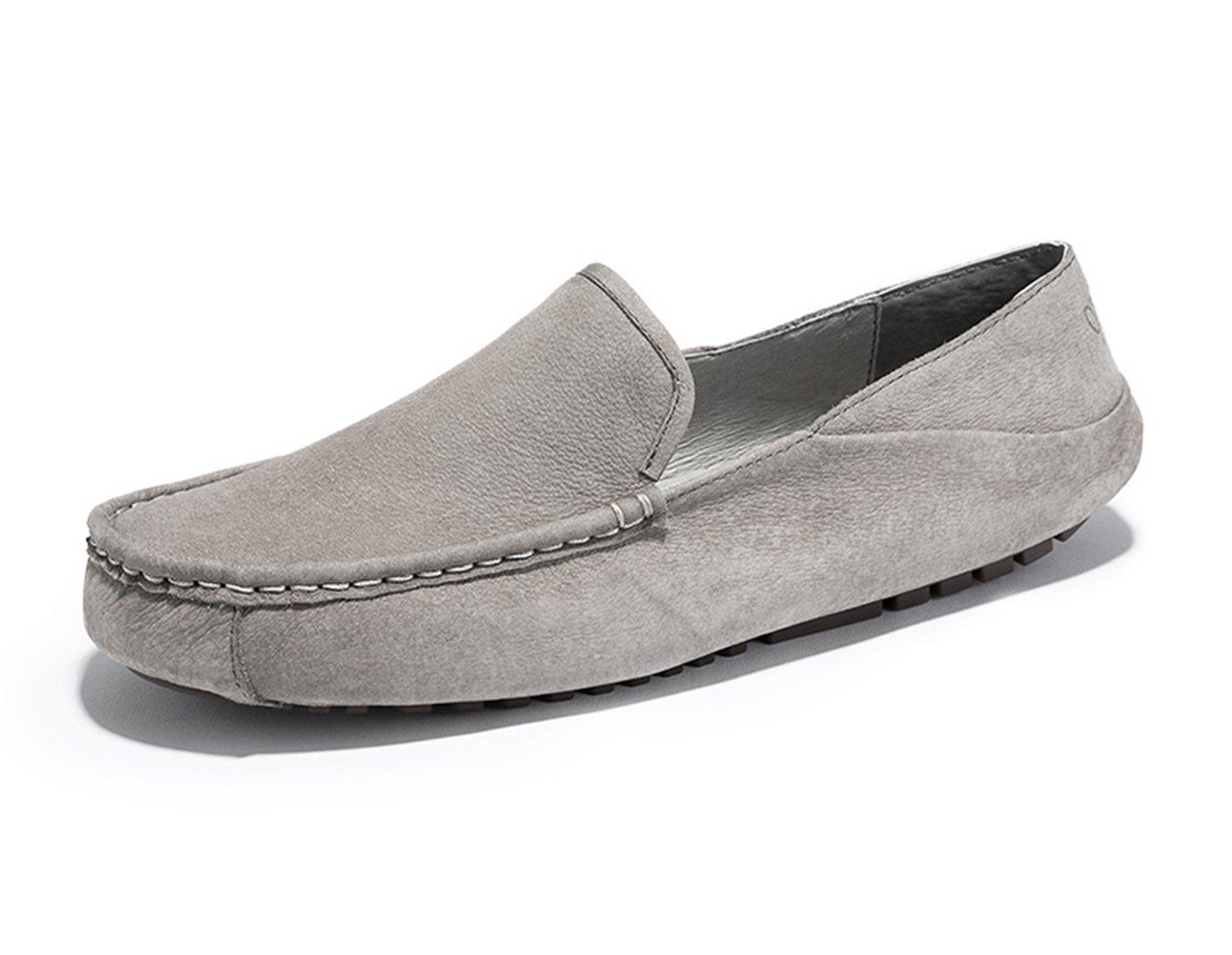 Miyoopark MiyooparkEUMY-Z3151 - Sandalias de Ante Hombre 40 EU|Gris