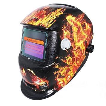 Welding & Soldering Supplies Tools Pro Adjustable Solar Powered Auto Darkening Solar Welders Welding Helmet Mask Forest Camo