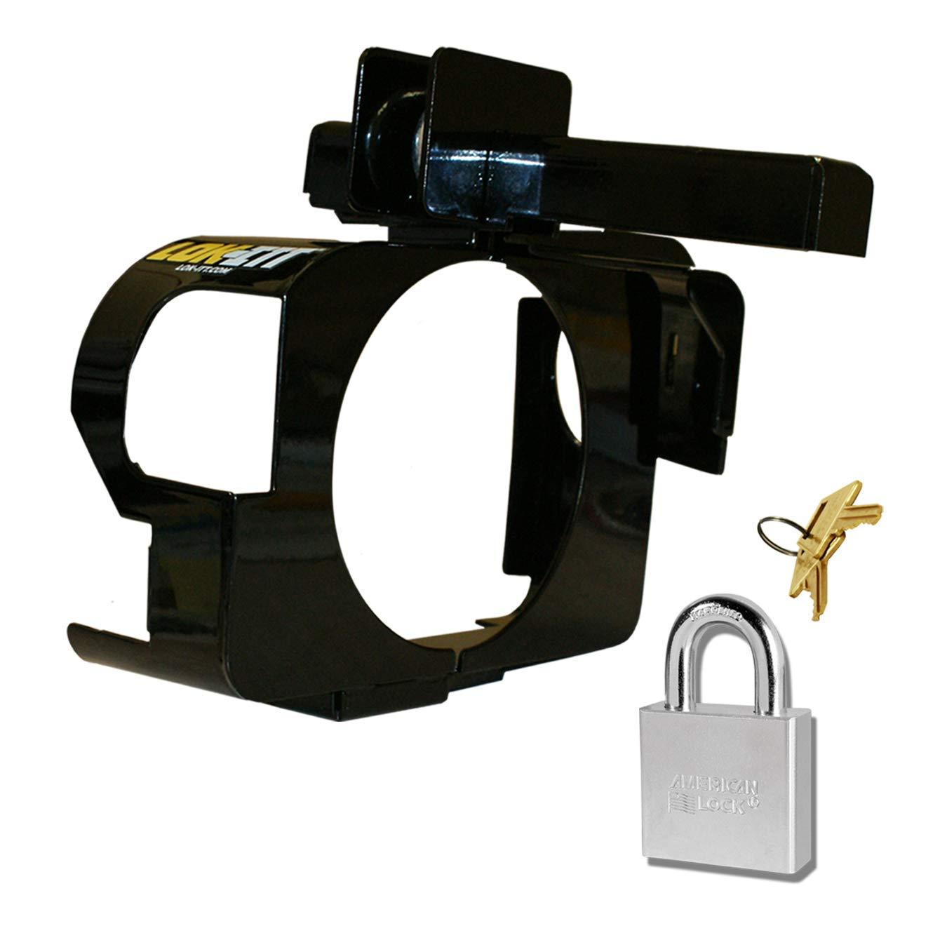 1clickautoacc Steering Column Lock, P250 Lok-Itt Steering Lock, fits GM SUV Trucks 1997-2013