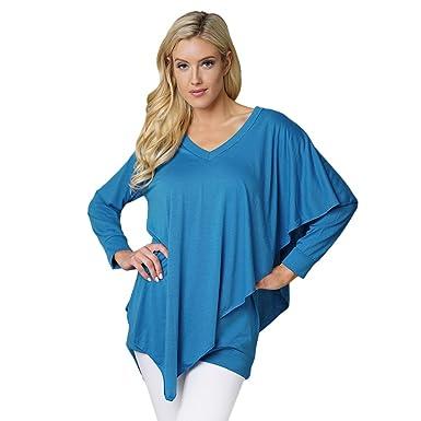 Rosegal T-Shirt d été Femme Débardeur Manche Courte Bretelle Taille Empire  épaule dénudées 252fe729e5f