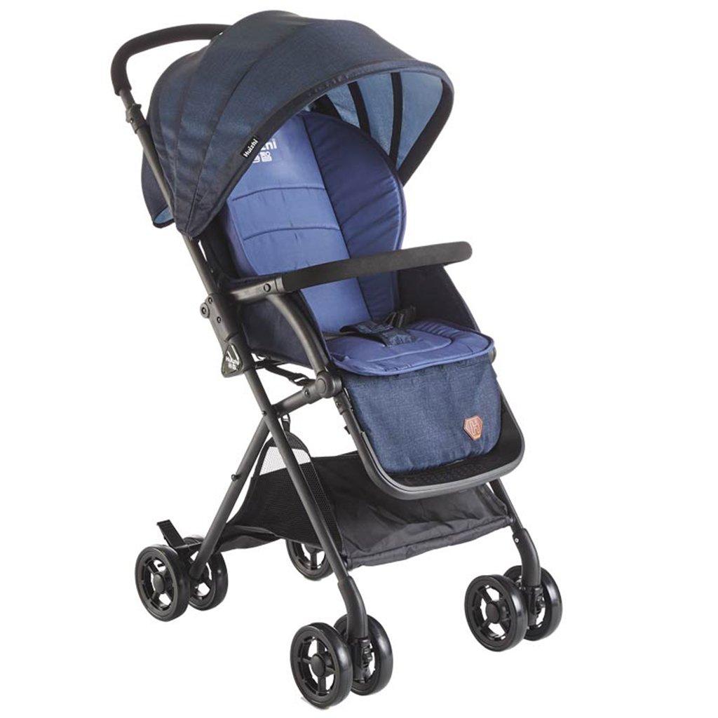 HAIZHEN マウンテンバイク ベビーカート軽量EVAフォームサスペンションタイヤ着座可能/折り畳み式トロリー調整可能な日除け抗UVベビーカー 新生児 B07DL9ZGQL 4 4
