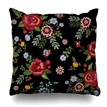 Amazon.com: iDecorDesign - Funda de almohada con diseño de ...