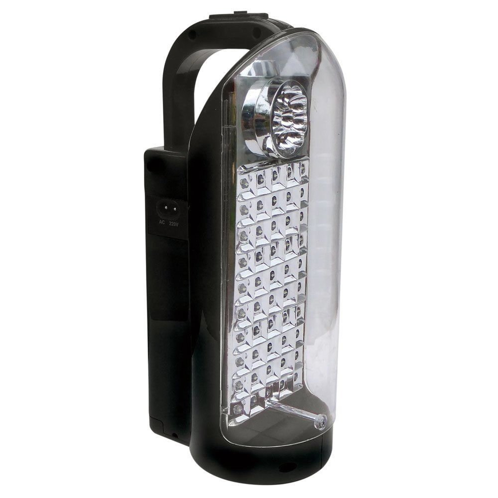 Infapower F019 60 LED Emergency Rechargeable Lantern Glass Silver