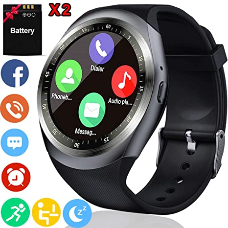 Activity Tracker with Heart Rate Monitor Smart Watch for Men Women Fitness Tracker with Blood Pressure Calorie Pedometer Sleep Monitor Smart Sport ...