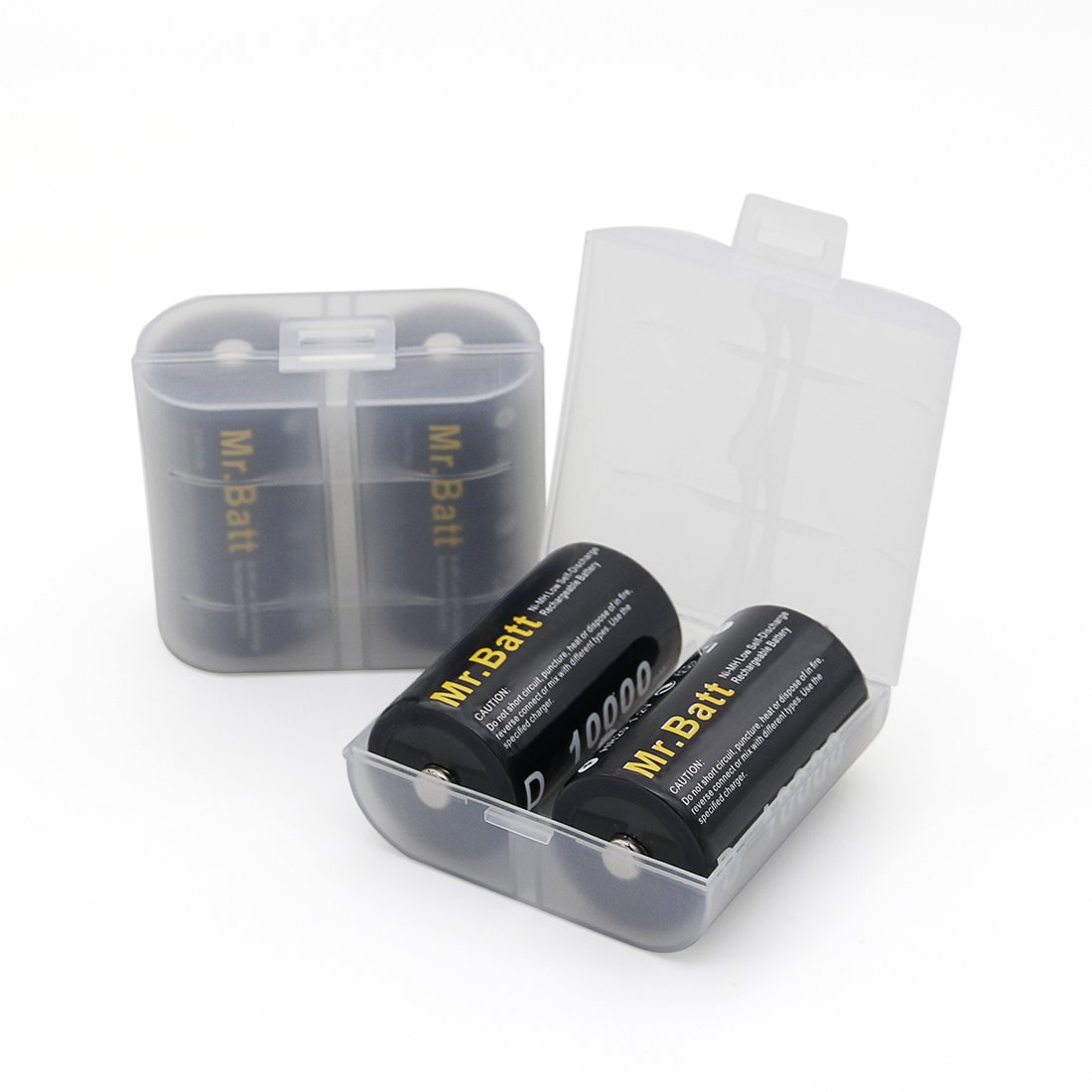 Mrbatt Rechargeable D Batteries 4 Pack With Universal Cell Phone Battery Charger Circuit C 9v Aaa Aa Home Improvement