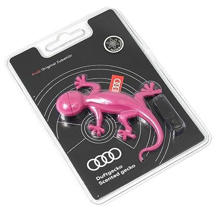 Audi 000087009 AC Aroma dispensador Original Aroma Gecko Rosa Gecko Ambientador (Aroma Ordenador: Aroma
