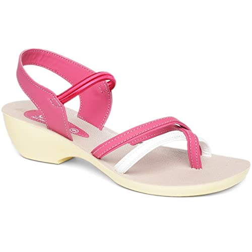 78b7ffa8136b PARAGON SOLEA Women s Pink Sandals  Buy Online at Low Prices in India -  Amazon.in