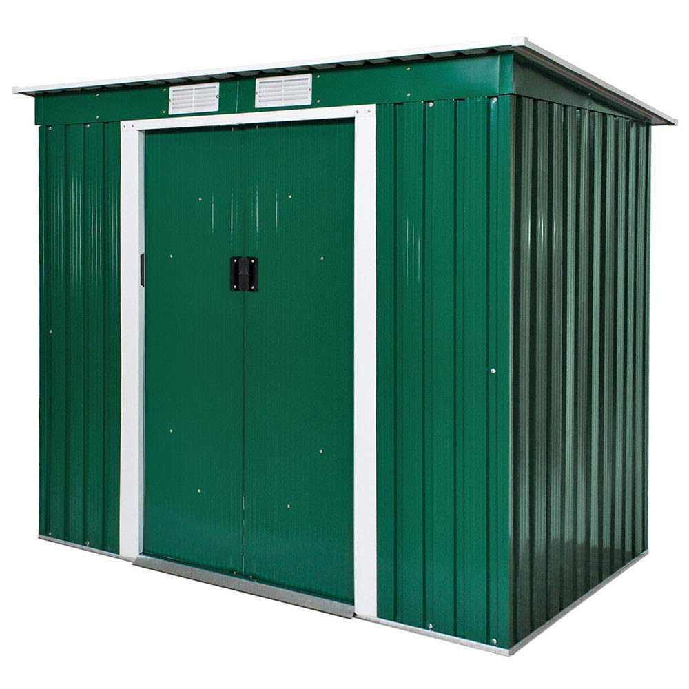 Dirty Pro Tools™ GARDEN SHED METAL 6 X 4 with base