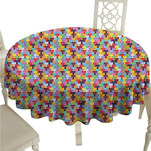 - duommhome Colorful Spill-Proof Tablecloth Gummy Bears Tile Candies in Different Vibrant Colors Sweet Kids Jelly Tasty Snack Easy Care D47 Multicolor