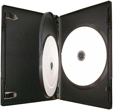 Masterstor - Estuche para 3 discos de CD DVD/BLU RAY (14 mm), color negro: Amazon.es: Electrónica