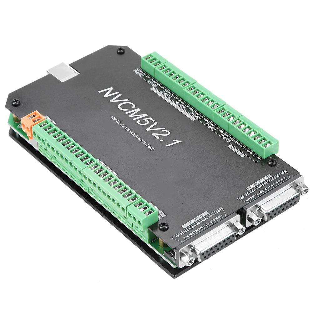 NVCM 5 Axis CNC Controller MACH3 USB Interface Board Card for Stepper Motor MACH3 Motion Control Card