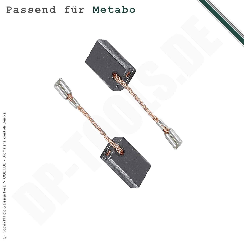 Kohleb/ürsten Kohlen Motorkohlen f/ür Metabo WBE 700