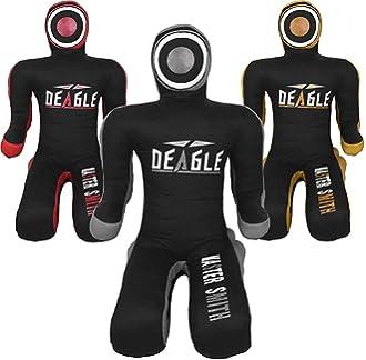 Emperor Sports Kids Grappling Dummy para ni/ños BJJ lucha maniqu/í bolsa de boxeo MMA brasile/ño Jiu Jitsu ni/ños Judo Juventud Lanzamiento de boxeo maniqu/í sin llenar
