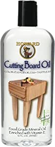 Howard Products BBB012 Cutting Board Oil, 12 oz