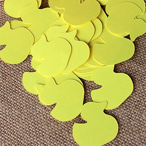 Rubber Ducky Baby Shower Confetti. Duck Baby Shower Table Confetti. 2 Packs (50CT each). ()