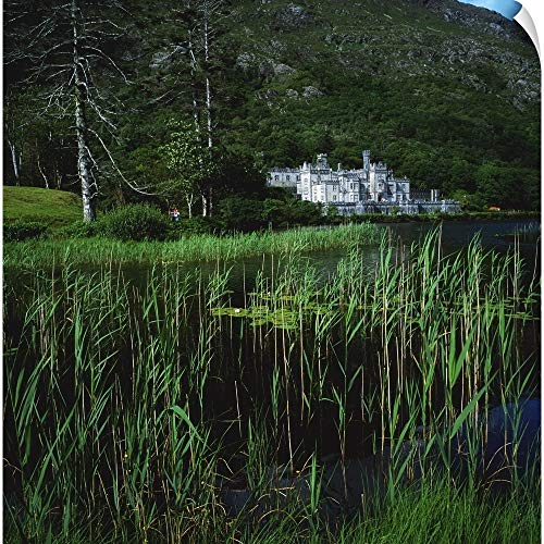 The Irish Image Collection Wall Peel Wall Art Print Entitled Connemara, County Galway, Ireland; Kylemore Abbey 20