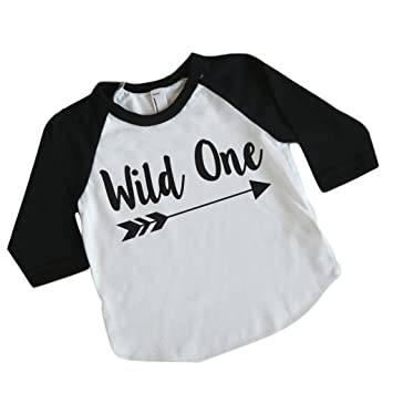 Image Unavailable Not Available For Color Wild One Boy First Birthday Shirt
