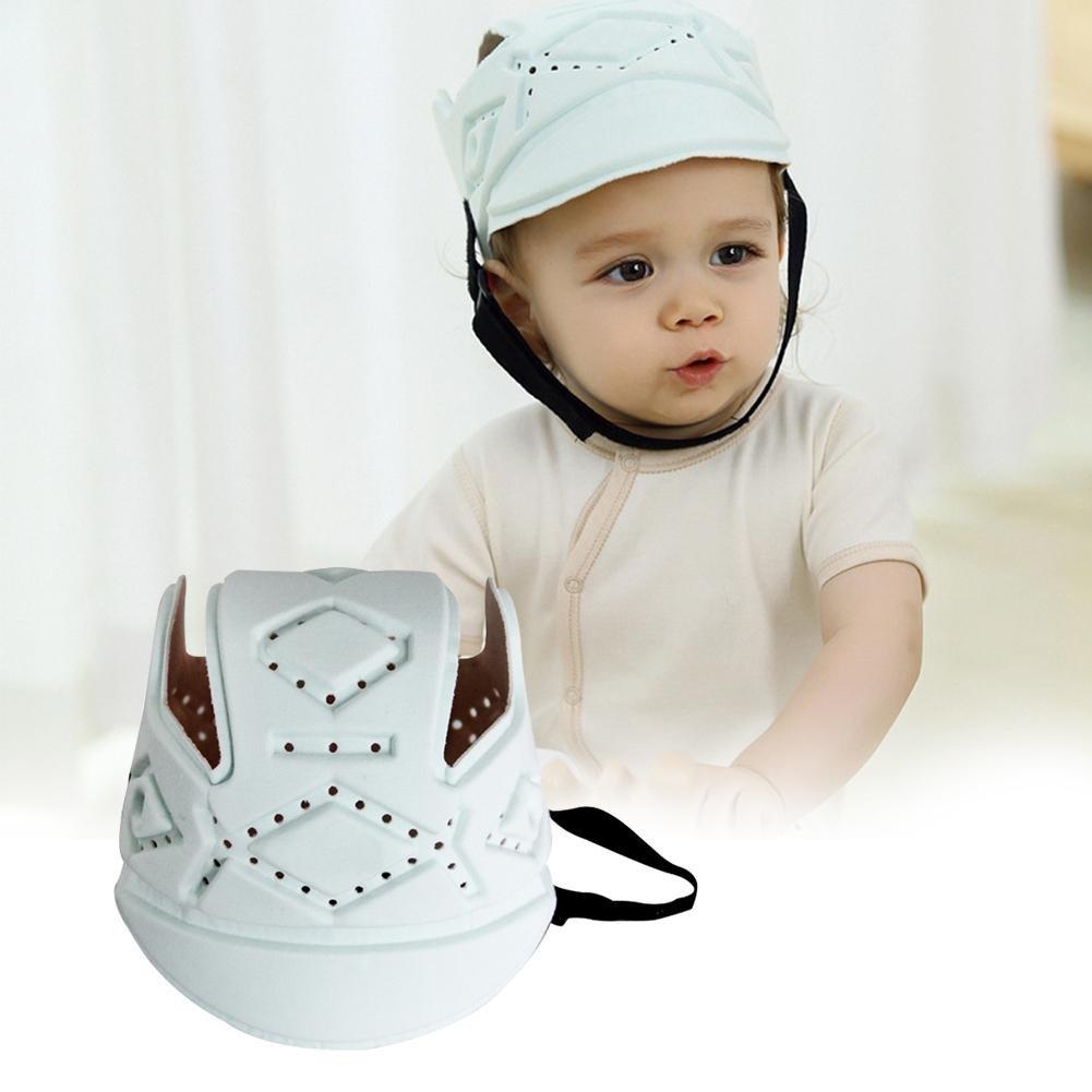 PER Baby Breathable Head Protector Helm Sicherheit Kopfschutz Schutzkappe Geschirre Hut f/ür Kleinkinder