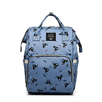 c9fe1372fd43 Amazon.com : LEQUEEN Baby Diaper Bag Multi-Function Waterproof ...