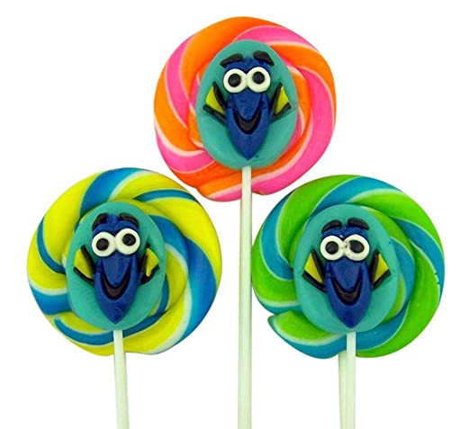 Disney's Finding Dory Lollipop with Gummy Sucker (Case of 12)