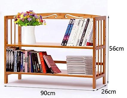 Bookshelf Bookcase Multifunction Desktop Simple Shelf Child Modern Student Storage Rack Display Furniture