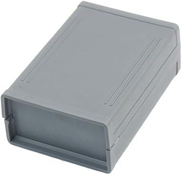 Montar en la pared de la caja plástica 100mmx70mmx38mm eléctrico de bricolaje caja de empalme: Amazon.es: Electrónica