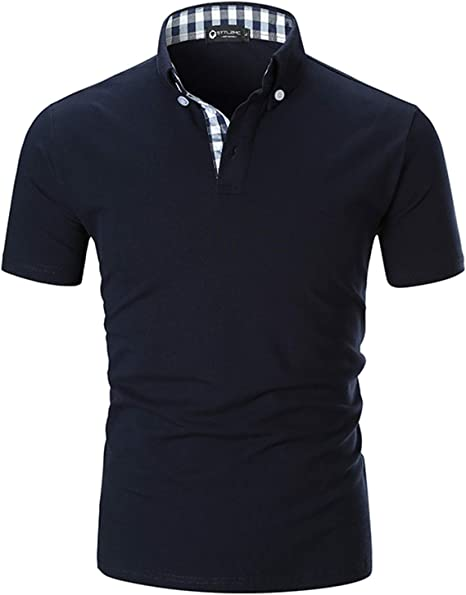 A Cars England Mens Regular-Fit Cotton Polo Shirt Short Sleeve G You Know And Good M