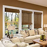 Chicology Bamboo Roll Up Blinds / Wood Window