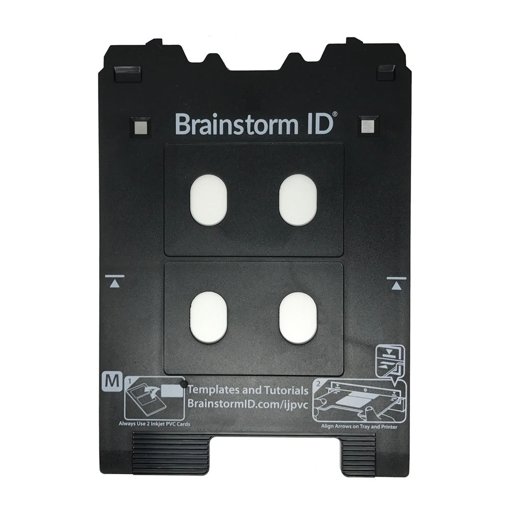 Inkjet PVC Card Tray for Canon PIXMA TS8000 and TS9000 Series Printers (Canon M Tray Printers) by Brainstorm ID by Brainstorm ID