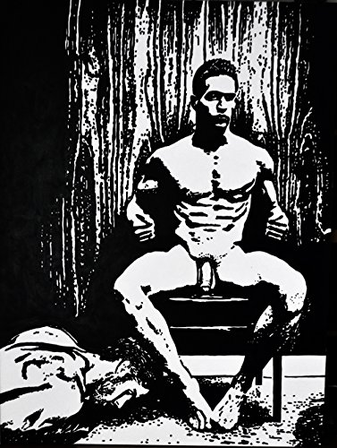 'Male Nude Series' Nude #80 The Dominant Man ~ Open Edition Art Print
