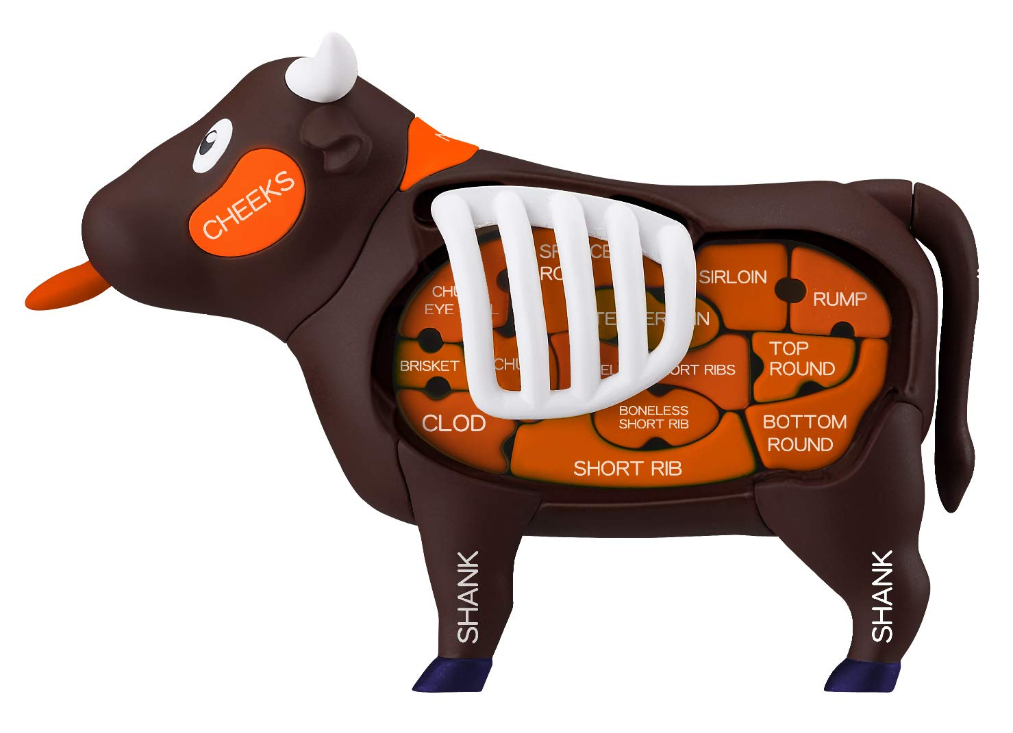Piece o Steak  Megahouse Cow Demolition Puzzle from Japan